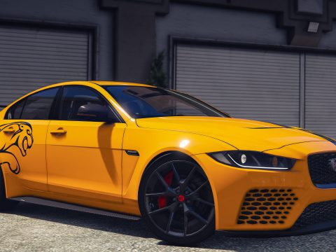 2018 Jaguar XE SV Project 8 [Add-On   LODs] 2.0