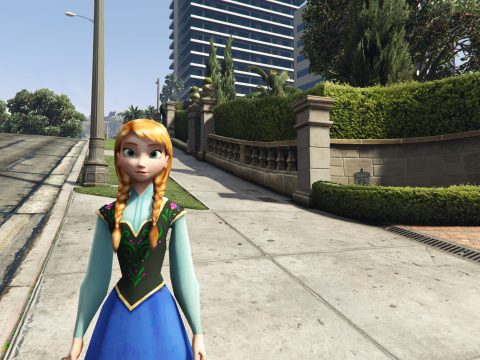 Anna of Arendelle (Frozen) [Add-On Ped] 0.1.1