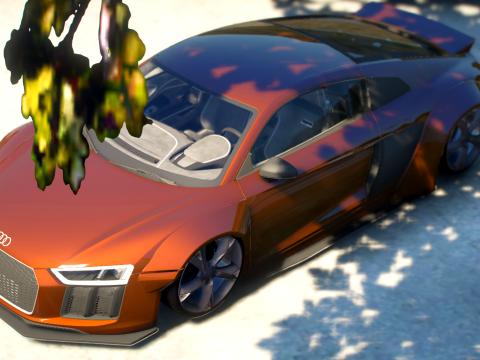 Audi R8 V10 Plus Rocket Bunny [Add-On / FiveM] 1.0