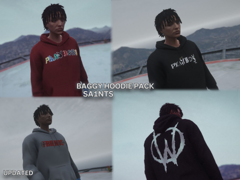Baggy Hoodie for MP Male v2 updated