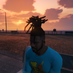 Dreads & Braids Pack for Frank 1.0