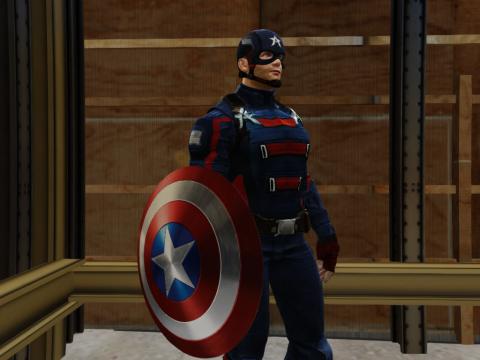 Captain America (John Walker) [Add-On Ped] 1.0