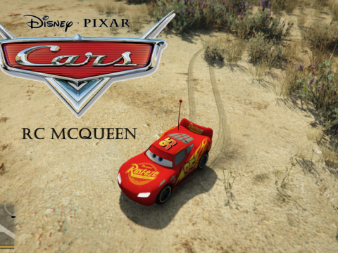 Cars RC McQueen [Add-On] 0.1
