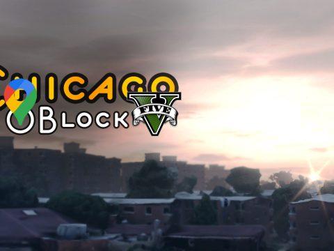Chicago O Block in GTA 5 - Google Maps 1.0