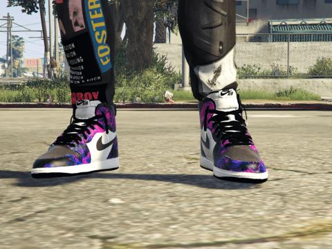 Dark Purple Jordan 1 Retro High OG 1.0