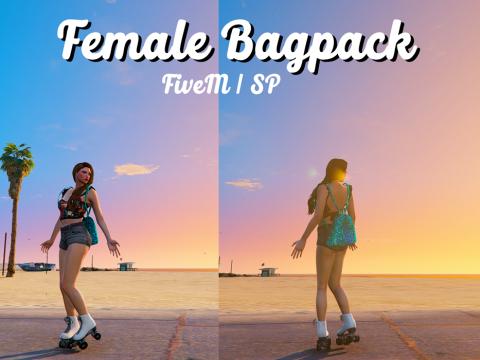 Female Bagpack [FiveM / SP] 1.0