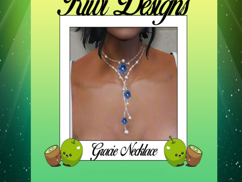 Flower necklace for MP Female 1.0