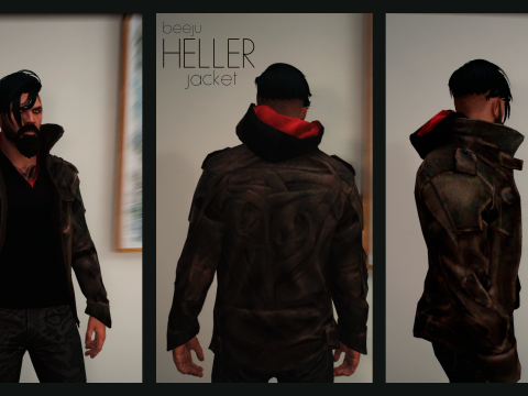 Heller Jacket (from Prototype 2) for MP Male 1.0