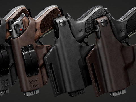 Holster Walther P88 [2K][EUP] 1.0