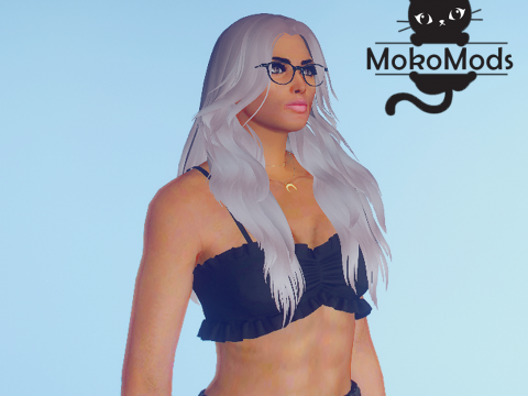 Medium Length Curly Hairstyle for MP Female 1.0