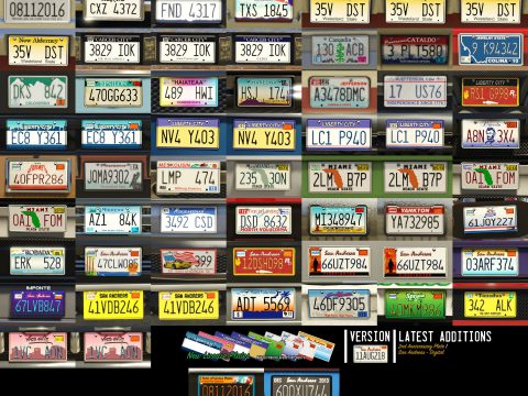 New License Plates [Add-On] 11AUG219