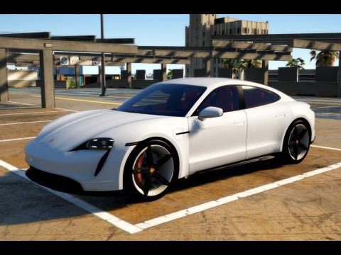 Porsche Taycan Turbo S [Add-On / FiveM] V1