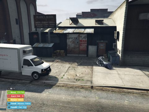 Small Garage [FIVEM/YMAPS/SP] 1.0