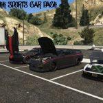 Sports car pack (Menyoo) 1.0