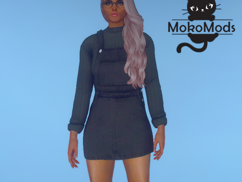 Sweater Overall Dress for MP Female 1.0