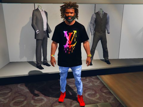 T-shirts Louis Vuitton for Franklin 1.0