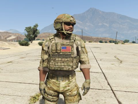 U.S. army OCP Outfits for protagonists 3.0