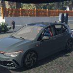 Volkswagen Golf 8 5porte GTI 2020 [Add-On ] 1.0