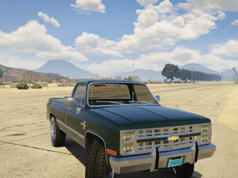1986 Chevrolet Silverado - Custom Style Like (Donk) [Add-On] Stage 1