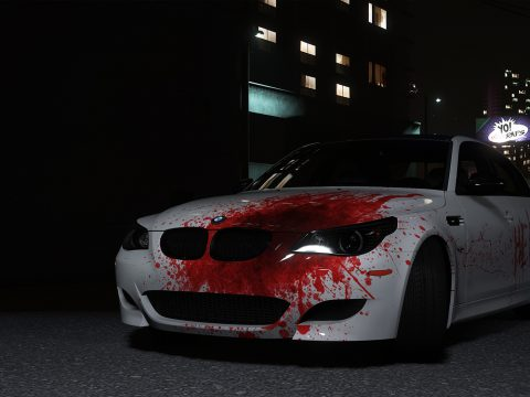 2009 BMW M5 (E60) Blood Vinyl 1.0