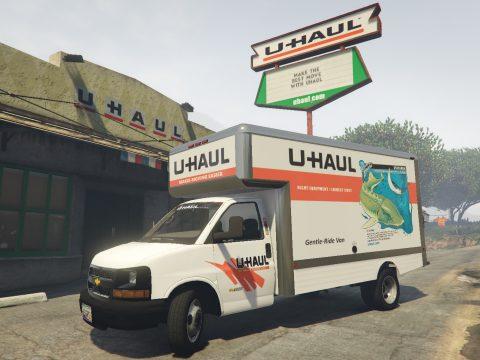 2016 Chevy Express UHaul Truck 1.1