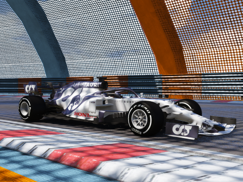 AT01 Scuderia Alpha tauri 2020 Formula One F1 [Add-on | livery] 1.0