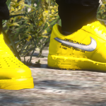 """Air Force 1 off white """"University Gold"""" 1.1"""