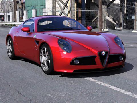 Alfa Romeo 8C Competizione 2008 [Add-On   Extras   Template] 1.1