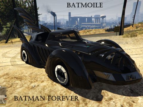 Batman Forever Batmobile 1995 [Add-On] 0.3