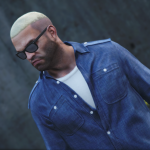 Blond hair for Trevor 1.0
