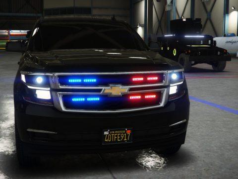 Chevrolet 2016 Suburban LTZ secret service Armored [Add-On] 1.1