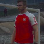 Christian Eriksen Denmark Euro 2020 Home Kit   Football Jersey [FiveM Ready] 1.0