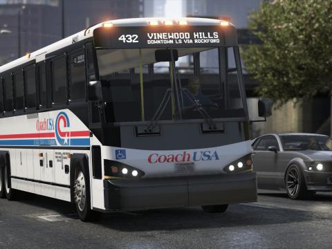 Coach USA MCI D4500CT Coach Bus [Replace] 1.0