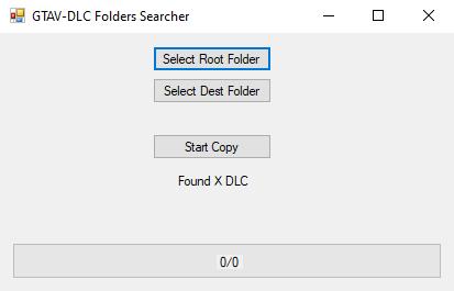 Dispersed DLC Folders grabber and copier 1.0
