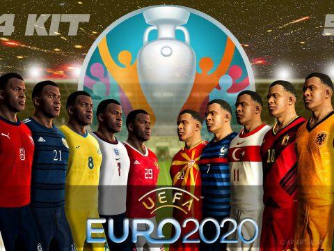 EURO 2020 national team kit current