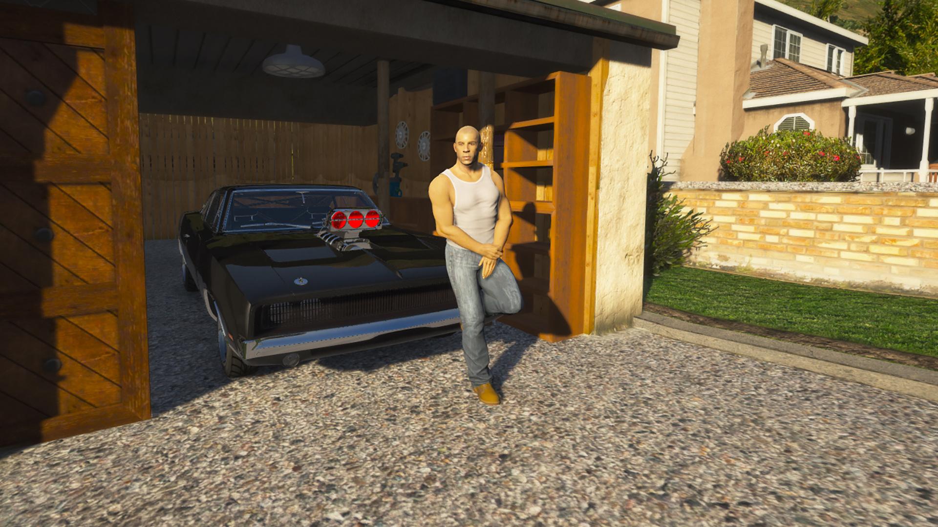 Fast & Furious 9 The Fast Saga Dom's Garage [MapEditor] 1.0