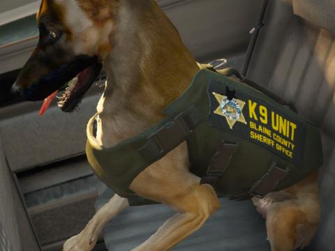 German Shepherd Police Skins 1.0