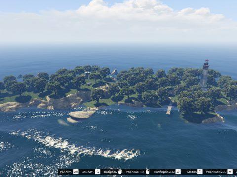 Island with a lighthouse [MapEditor] 1.0