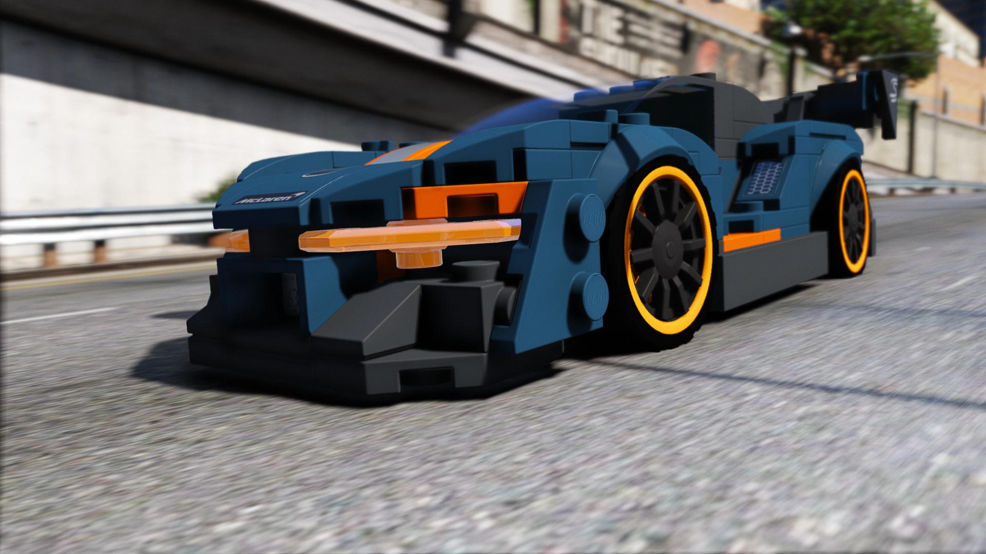 LEGO Mclaren Senna 2019 [Add-On / Replace | Template | OIV] 1.0