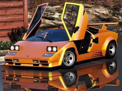 Lamborghini Countach 1988 [Add-On | Template | Extras] 1.1