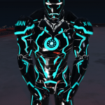Neon Tech Iron Man Mark II 1.0