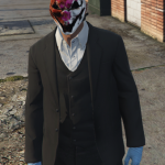 Old Hoxten Payday2 mask for MP Male 1.0