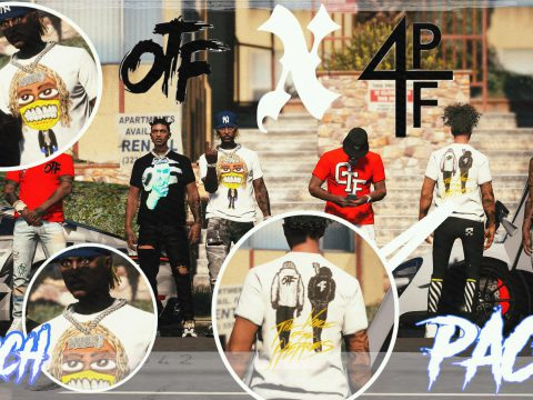 Otf x 4pf Gear Merch Pack Shirts for MP Male 1.0