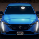 Peugeot 308 2022 [Add-On / Replace] 1.0