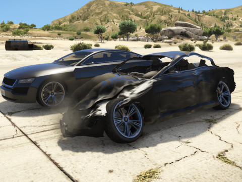 Realistic Car Damage With Better Deformation For DLC Vehicles 1.0.2