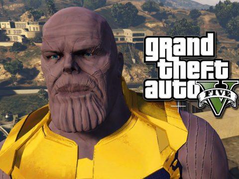 Thanos! Cinematic HD! - Retexture 1.0