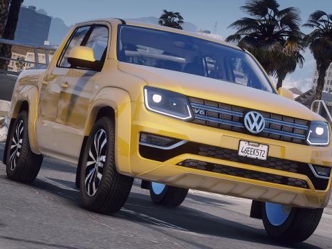 Volkswagen Amarok [Add-On / Replace   FiveM   DEV   Lods] 2.0