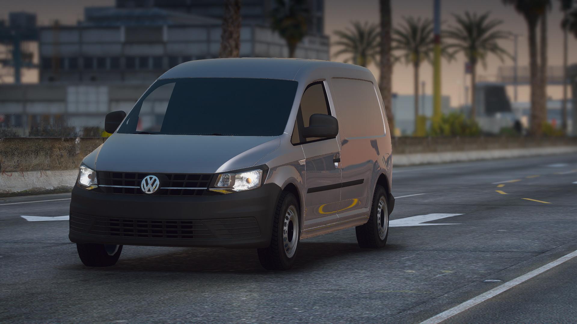 Volkswagen Caddy Maxi 2016 [Add-On | Unlocked] 1.0