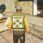 Offwhite & vlone SP Jacket (w/shirt) 1.0