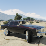 1989 Chevrolet Caprice (Custom Style Donk) Stage 1